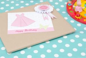 Geschenkverpackung Origami