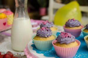 Kindergeburtstag Kuchen Muffins Mädchen birthday party
