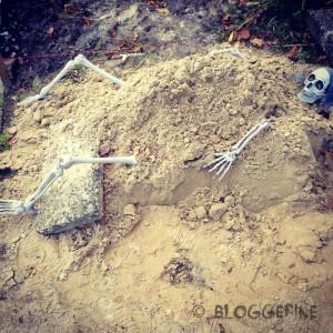 halloween diy decoration trick or treat skull