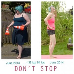 vorher nachher bilder abnehmen diät sport fitness Frau speck weg