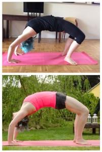 yoga rad urdhva dhanurasana wheel backbend rückbeuge pose yoga position asana