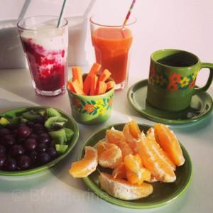 Abnehmen Diät Essen Obst Gemüse Saft was kann ich essen Gewicht reduzieren Tipps zum Abnehmen
