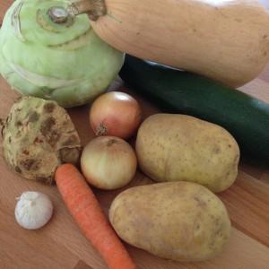 Kürbis Zucchini Suppe Rezept