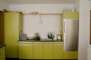 grüne Simatic Küche 70-ziger Jahre 70er Jahre Küche Simatic grün vor dem Umbau