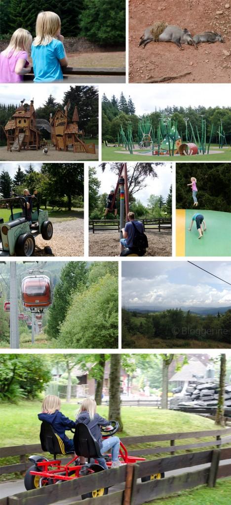 Panoramapark Wildpark Sauerland Urlaub mit Kindern Familienurlaub in der Jugendherberge Burg Bilstein Tagesausflug in den Panoramapark