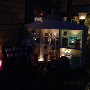 Halloween Halloweendekoration gruselig spooky diy selber machen ganz einfach