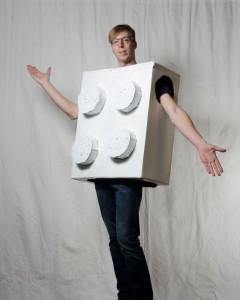 halloween kostüm für männer legostein einfach selber machen einfache kostüme für männer