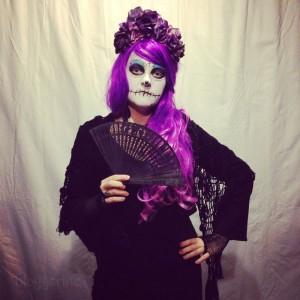 halloween kostüm frauen sexy dia de los muertos diy sugarskull Tag der Toten