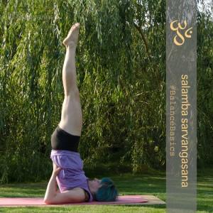 Schulterstand gestützter Schulterstand supported shoulderstand salamba sarvangasana Yoga September Challenge Instagram Inversion Umkehrhaltungen Yogaposition Asana