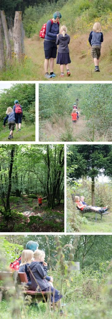 Familienurlaub Sauerland Saalhausen Wanderung Rinsley Felsen Wandern mit Kindern Urlaub mit Kindern wandern