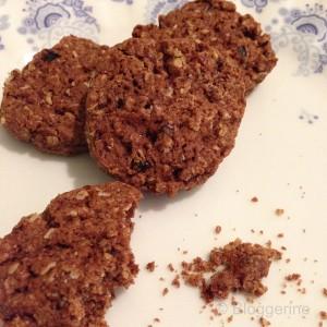 Cranberry Hafer Cookies Rezept Schokokekse mit Cranberry Haferflocken ganz leicht backen