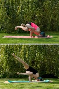 Yoga yogaposition Armbalance balanceübungen Asana fallen Angel devaduuta panna asana gefallener Engel