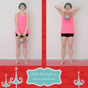 weihnachtsworkout, kampf dem Speck, weihnachtsspeck weg, functional fitness, das kleine schwarze, pull up,kettlebell