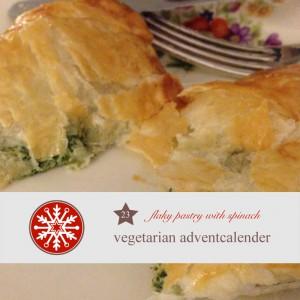diy, adventskalender, rezept, Party, Fingerfood,  Blätterteig, Spinat, FEta, gefüllter Blätterteigtaschen, Spinat Thymian Füllung,  vegetarisch, vegetarsicher Adventskalender