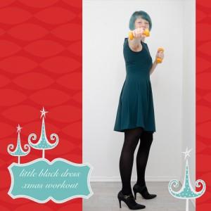 weihnachtsworkout, kampf dem Speck, weihnachtsspeck weg, functional fitness, das kleine schwarze