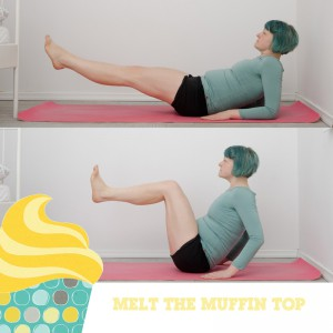 Melt the muffin top, Kampf dem Speck, BBP, Fitness, fit sein, functional fitness, zuhause, workout, Bauch, core workout, fit sein