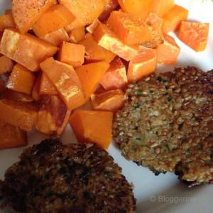vegetarisch kochen, vegetarisch, vegetarier, gemüsefrikadelle, bulette, kochen, braten, Rezept