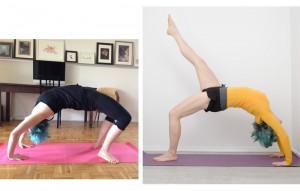 Yoga, asana, Yogaposition, Rücken, Rückenschule, Rückbeuge, backbend, Progress, fit sein