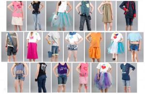nähen mit Kindern, nähen, Nähanfänger, Modenschau, Projektwoche, Grundschule, Fotoshooting