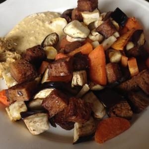 vegan, Veganer, vegan kochen, vegetarisch, vegetarisch kochen, Rezept, fit sein, Gemüse, Seitan, Wintergemüse, Süßkartoffel, Aubergine