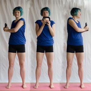 Kettlebell Workout zuhause, triceps, Kugelhantel, Fitness mit dem Kettlebell, Kettlebell für Frauen, fit sein, abnehmen