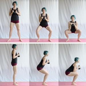 Kettlebell Workout zuhause, squat, Kugelhantel, Fitness mit dem Kettlebell, Kettlebell für Frauen, fit sein, abnehmen