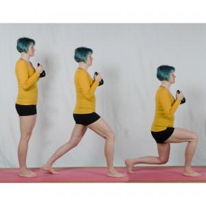 Kettlebell Workout zuhause, lunge, Kugelhantel, Fitness mit dem Kettlebell, Kettlebell für Frauen, fit sein, abnehmen