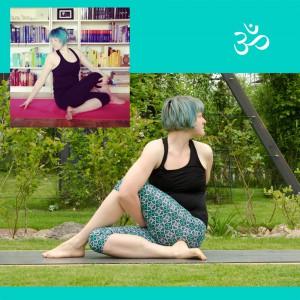 yoga progress, Yoga, Yoga Fortschritt, Yogaposition, Yogaanfänger, twist, twisted seat, marichyasana, Asana, Drehsitz, gebunden, gebundener Drehsitz, bound seat