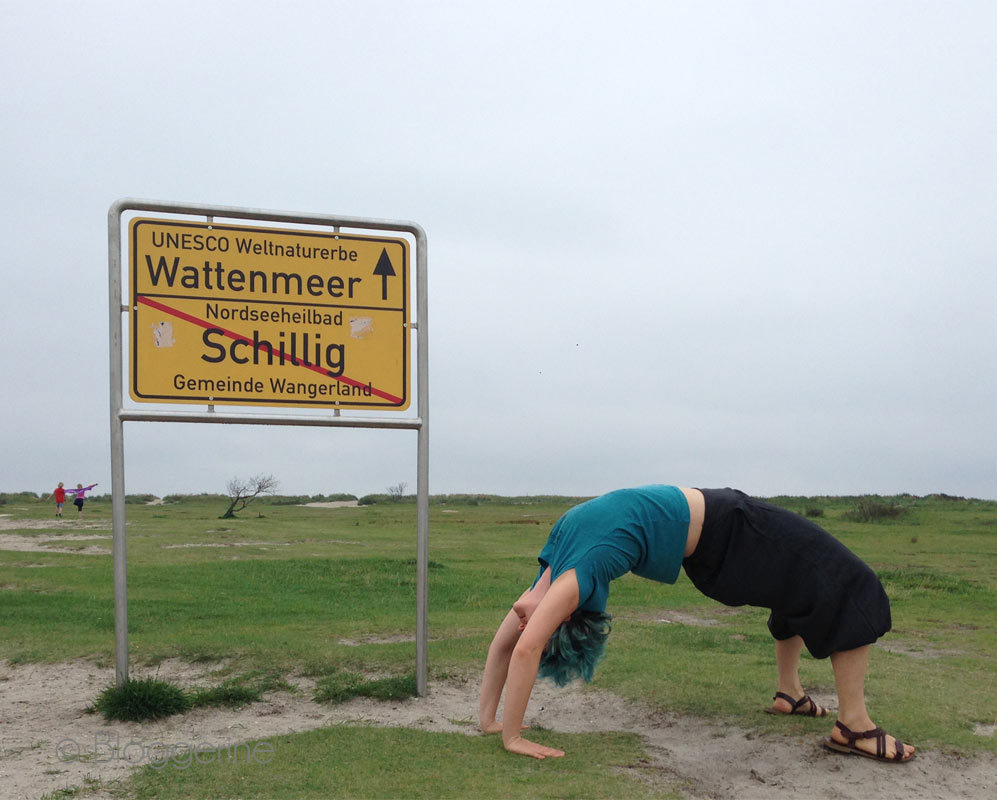 Yoga An Der Nordsee Am Strand Bloggerine De Don T Panic