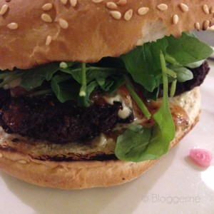 Vegetarischer Burger, Gourment Burger Kitchen, Burger, Essen, London, Fast Food, vegetarisch, kulinarisch unterwegs