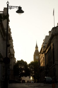 London, Big Ben, Morgensonne, August, Sonnenaufgang, Hauptstadt, London am morgen, Joggen, joggen in London, laufen, Fitness im Urlaub