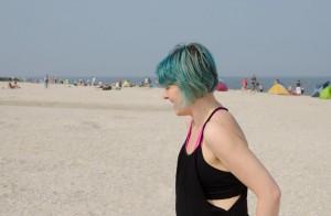 Acroyoga, Acroyoga am Strand, yoga, yoga überall, yoga everywhere, Spotter, Flyer, Base, Sommer, Sonne, Urlaub, Meer, Nordsee