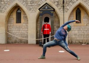 London, Tagesausflug, Windsor, Windsor Castle, Schloss, Quenn, England, Kurztrip, Sommerurlaub, Yoga