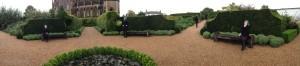 Mittelalterliches Schloss, Arundel, West Sussex, England, Castle, Garten, Ausflug, Urlaub, Kurztrip, Schloss, Gartenpanorama