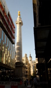 London, Running, joggen, Joggen im Urlaub, fit im Urlaub, England, Morgensonne, Jogger, the monument