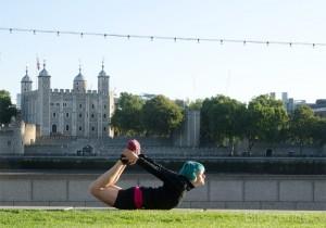 London, Running, joggen, Joggen im Urlaub, fit im Urlaub, England, Morgensonne, Jogger, The Tower