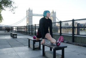 London, Running, joggen, Joggen im Urlaub, fit im Urlaub, England, Morgensonne, Jogger, tower Bridge