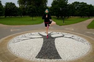 London, Joggen in London, Joggen im Urlaub, Fit im Urlaub, England, Sightseeing, Sehenswürdigkeiten, Kensington, Hyde Park, Steinbaum
