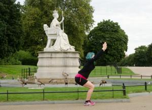 London, Joggen in London, Joggen im Urlaub, Fit im Urlaub, England, Sightseeing, Sehenswürdigkeiten, Kensington, Kensington Gardens, Queen Victoria
