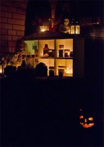 Halloween, Dekoration, Deko, selber machen, trick or treat, süßes oder saures, diy, Apothekengläser, Tinkur, Hexenküche