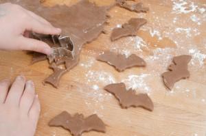 Lebkuchen, Rezept, Backrezept, backen, Weihnachten, Weihnachtskekse, Fledermaus, Halloween, trick or treat, Süßes oder Saures