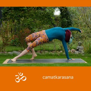 Yoga, Yogapose, Yogaposition, Asana, wild thing, camatkarasana, rockstar pose, backbend, stretch