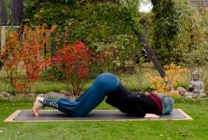 Yoga, Yogi, stretching, Dehnung, 8-point-pose, Knie-Brust-Kinn Position, asana, fit sein,  Heart opener, ashtanga namaskar