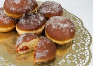 Silvester, Party, Berliner, Pfannkuchen, Marmelade, Silvesterparty, Neujahr, Rezept, selber machen, frittieren