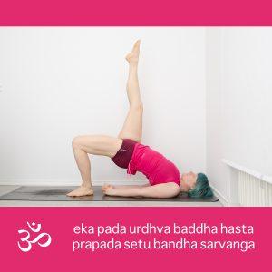 Yoga, Yogapositionen, yogi, Pose, asana, Brücke, setu bandhasana