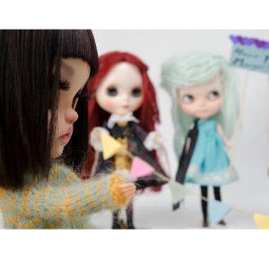 Margo Travelling Blythe, art project, Blythe love, blythe, custom blythe, Karolin Felix, doll, I Play with dolls, doll photography