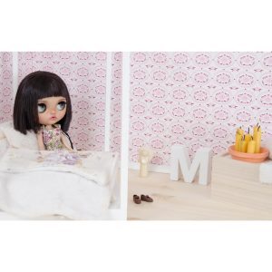 art project, Blythe, Blythe love, custom blythe, doll, doll photography, I Play with dolls, Karolin Felix, Margo Travelling Blythe, diy, miniature, bedroom