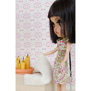 art project, Blythe, Blythe love, custom blythe, doll, doll photography, I Play with dolls, Karolin Felix, Margo Travelling Blythe, diy, miniature, bedroom