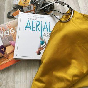 Aerial Yoga, Yoga, flying yoga, Yogatuch, Yogabuch
