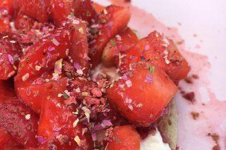 Erdbeere, Erdbeeren, Erdbeersaison, Rezept, Rezepte mit Erdbeeren, Pancakes, Alles Liebe